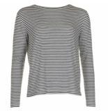 Vince Shirt v6241-83406 zwart-wit blauw