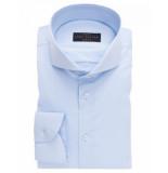 John Miller Overhemd licht cutaway slim fit stretch