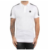Philipp Plein Polo hirt hexagon white wit