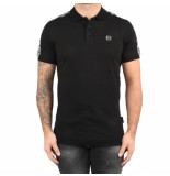 Philipp Plein Polo hirt hexagon black zwart
