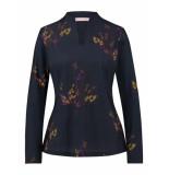 Studio Anneloes Livia twig shirt 03808 blauw