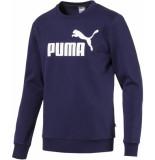 Puma Ess big logo crew sweat fl blauw