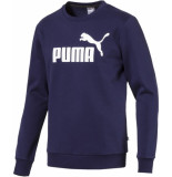 Puma Ess big logo crew sweat fl blauw