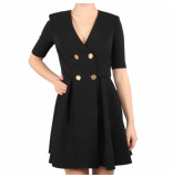 Elisabetta Franchi Moves Dress zwart