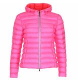 Blonde No8 Jas bergen neon roze