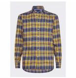 Tommy Hilfiger Overhemd ruit geel