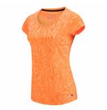 Sjeng Sports Ss lady tee michelle plus michelleplus-o303 oranje