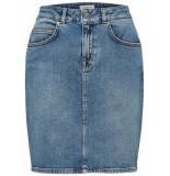 Selected Femme 16067830 slfkena hw mid blue denim blauw