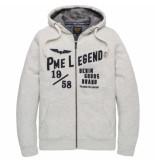 PME Legend Psw201403 921 hooded brushed fleece light grey melee