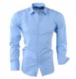 Pradz 2018 Heren overhemd licht blauw