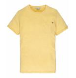 Cast Iron T-shirt ctss201252 geel