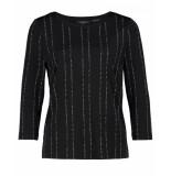 Claudia Sträter T-shirt 1800139 zwart