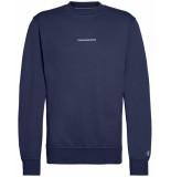 Calvin Klein Pullover j30j314691 blauw