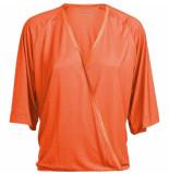 Summum 3s4385-30127 318 top wrap short slv lyocell fresh coral