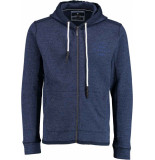 Basefield Sweat cardigan 219014827/608 blauw