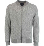 Basefield Sweat cardigan 219014865/802 grijs