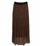 IZ NAIZ Rok 7681 pleated skirt ecru