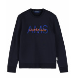 Scotch & Soda Pullover 155275 blauw