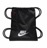 Nike Rugzak heritage 2.0 gymsack black