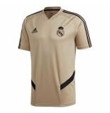 Adidas Real madrid trainingsshirt 2019-2020 gold goud