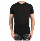 Dsquared2 Round neck t-shirt zwart