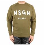 MSGM Weathirt groen