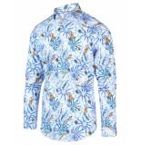 Blue Industry Overhemd 2046.21 blauw