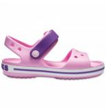Crocs Sandaal crocband sandal kids carnation/amethyst-schoenmaat 19 20