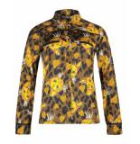 AI&KO Aaiko blouse finou leo heart 510 geel