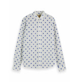 Scotch & Soda Overhemd 155162 0220 shirt met mini print -