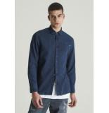 Chasin' Overhemd blauw 6111400024 d20 ray noval - denim