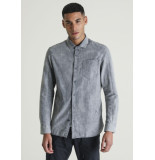 Chasin' Overhemd ray devon grey 6111400030 e81 - grijs