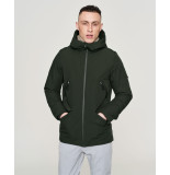 Elvine Winterjas cole 355 green khaki - groen