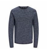 Jack & Jones Trui 12168318 knit crew neck 12168318 black -