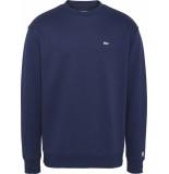 Tommy Hilfiger Sweater blue dm0dm04469 cbk black iris - blauw