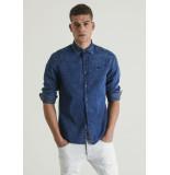 Chasin' Overhemd blue 6112400010 d20 stryke marin chasin denim