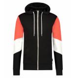 Kultivate Hoody sweater 901041009 100 black - zwart
