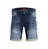 Jack & Jones Jeans short 12147069 rick 854 blue korte broek