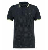 Kultivate 1901030400 319 t-shirt dark navy - blauw