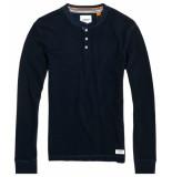 Superdry Long sleeve navy blue m6000014a adq - blauw