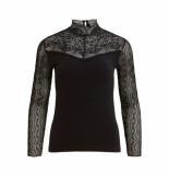 Object Shirt 23031742 black - zwart