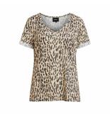 Object T-shirt animal print 23029730 animal - bruin
