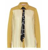 Studio Anneloes Poppy plissee shirt 04171 geel