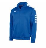 Hummel Valencia top 1/4 zip 108009-5200 blauw