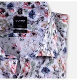 Olymp Overhemd 123854 35 - rood