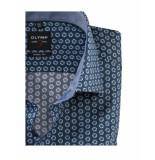 Olymp Overhemd 204454 45 - groen