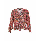 MAICAZZ Najma blouse tulips sp20.20.005 rood