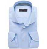 John Miller Heren overhemd licht met lichte accenten tailored fit
