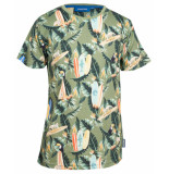 Someone T-shirt aloha khaki